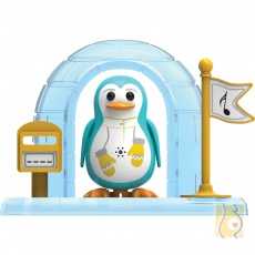 DigiPenguins z igloo Peyton błękitny S88344/42
